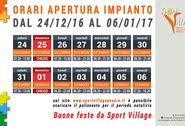 Orari festivi sport village for Orari apertura bricoman cagliari